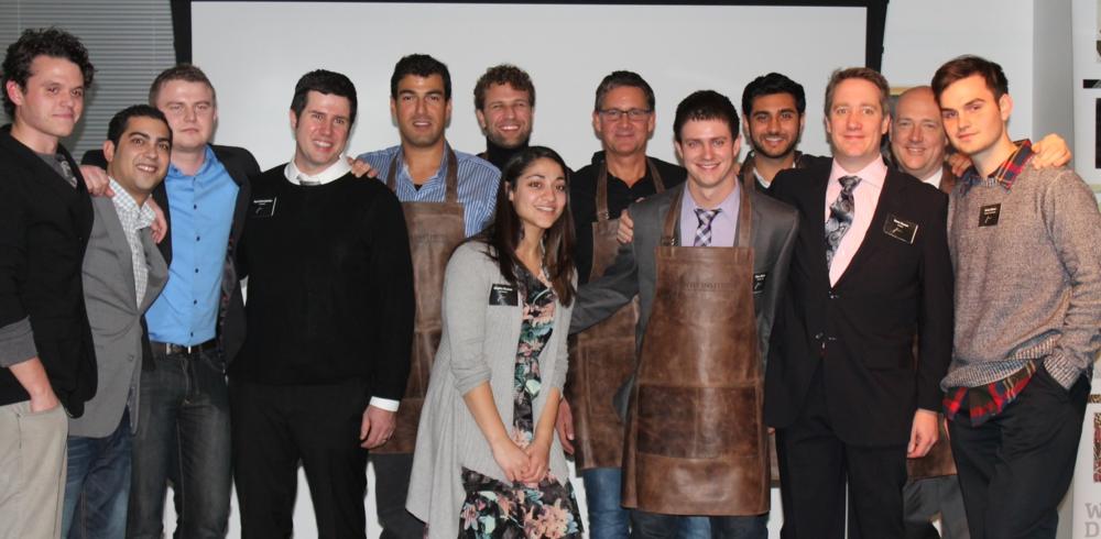 JuntoI Graduates atJunto Night 2013 ( Kilton 6th from left; Paul, in glasses, 6th from right )