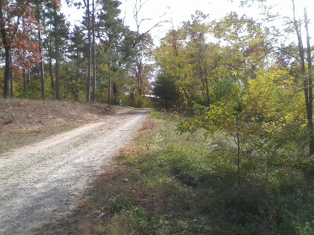 Driveway into Retreat Center