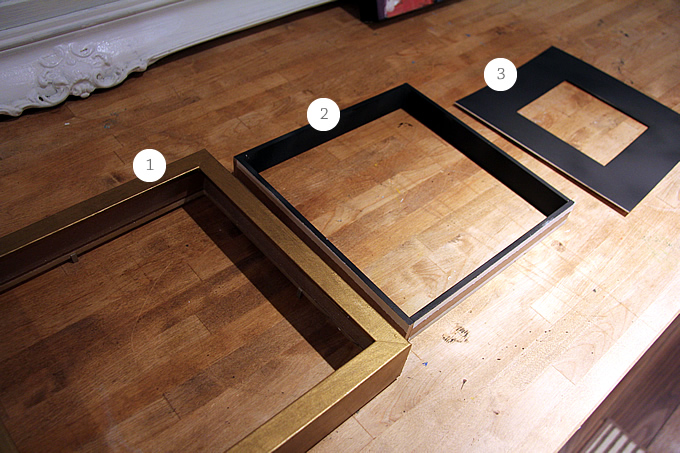 Ikea Hack Gold Frames Lindsay Stephenson