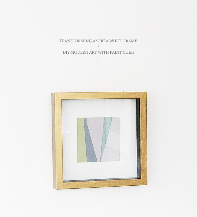 Ikea Hack - Gold Frames • Lindsay Stephenson