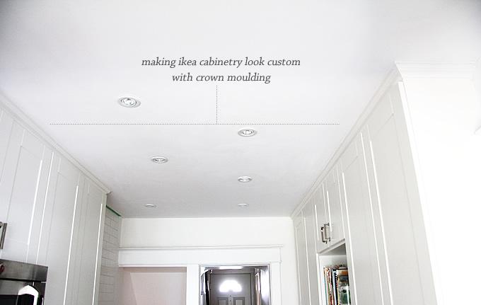 Making Ikea cabinets look custom • Lindsay Stephenson