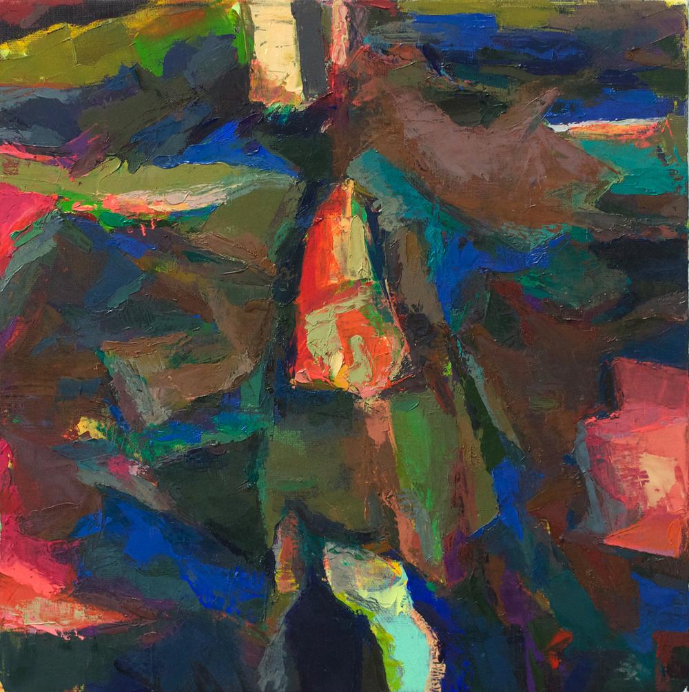 "Untitled, 12""x12"", 2013"
