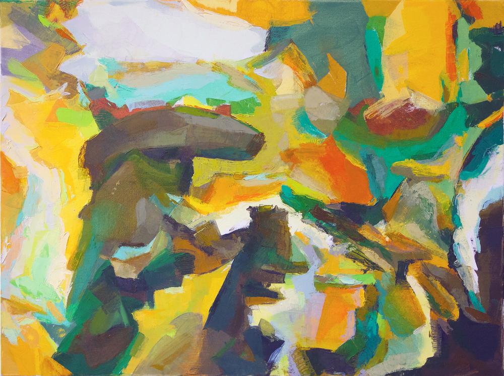 "Untitled, 18"" x 24"", 2013"