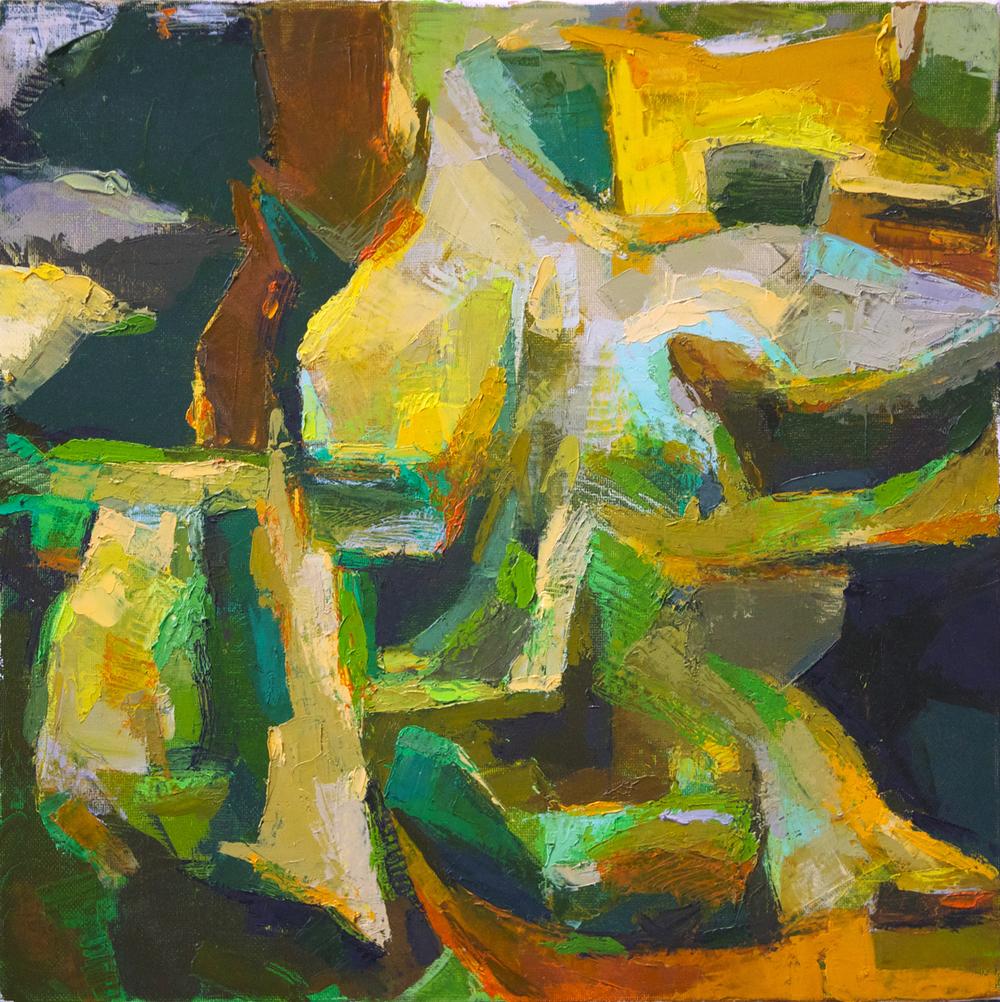 "Untitled, 12"" x 12"", 2013"