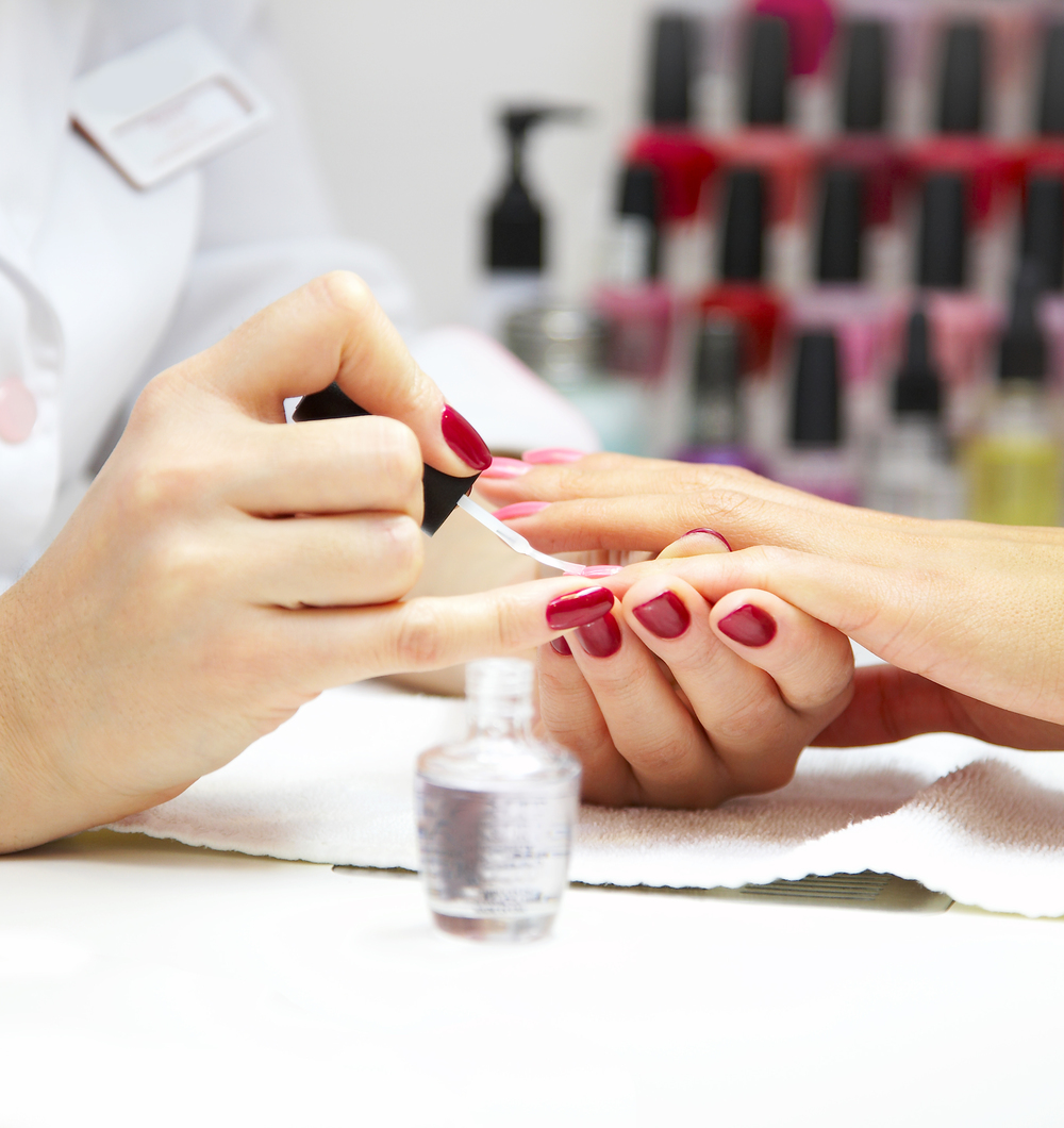 Manicures & Pedicures available at Laura Frances Skin Care & Beauty.