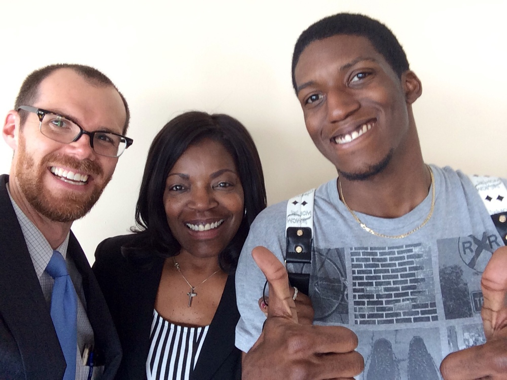 Before Renay and Tommie hit the road yesterday, I made them let me take a selfie with them.