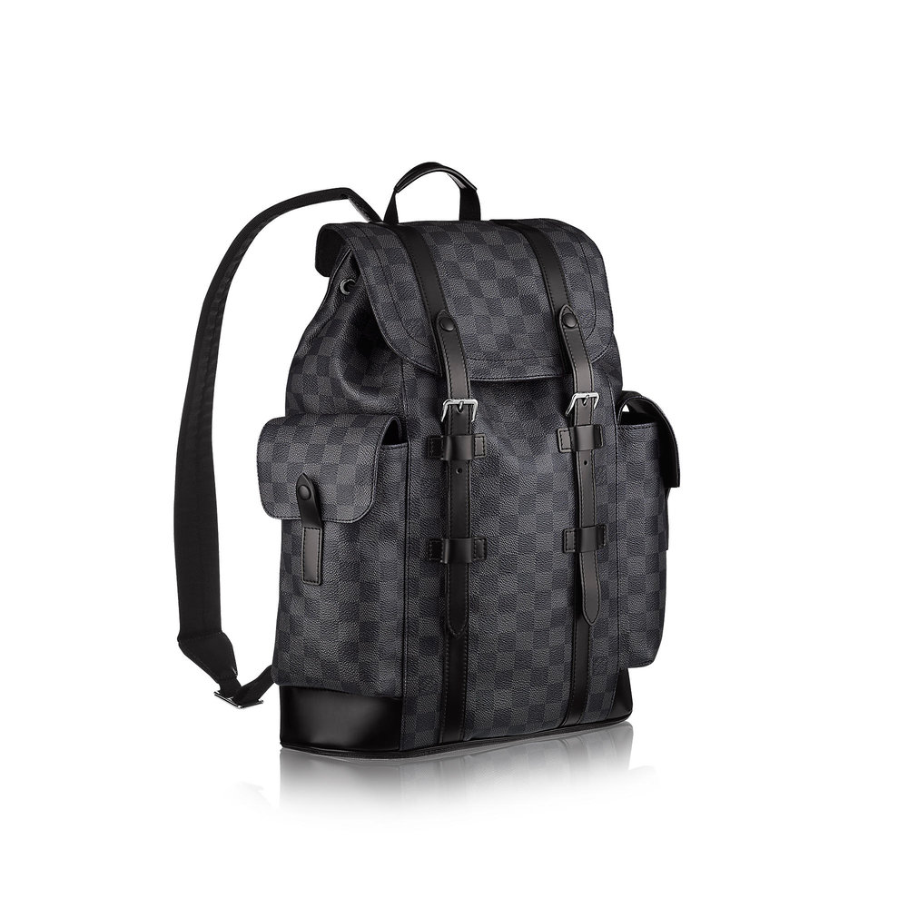 Entrupy Support Louis Vuitton Damier Graphite