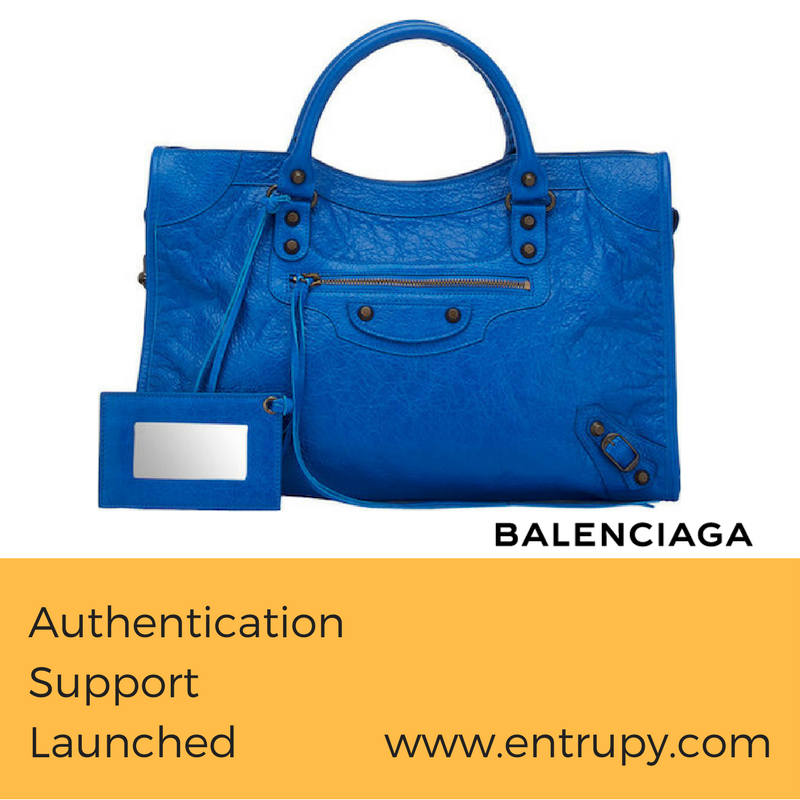 Brand support launched for Balenciaga