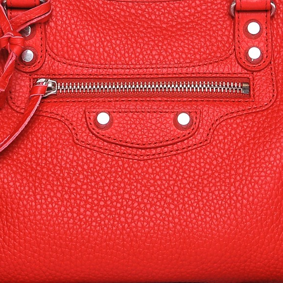 Balenciaga Vibrato Calfskin Leather