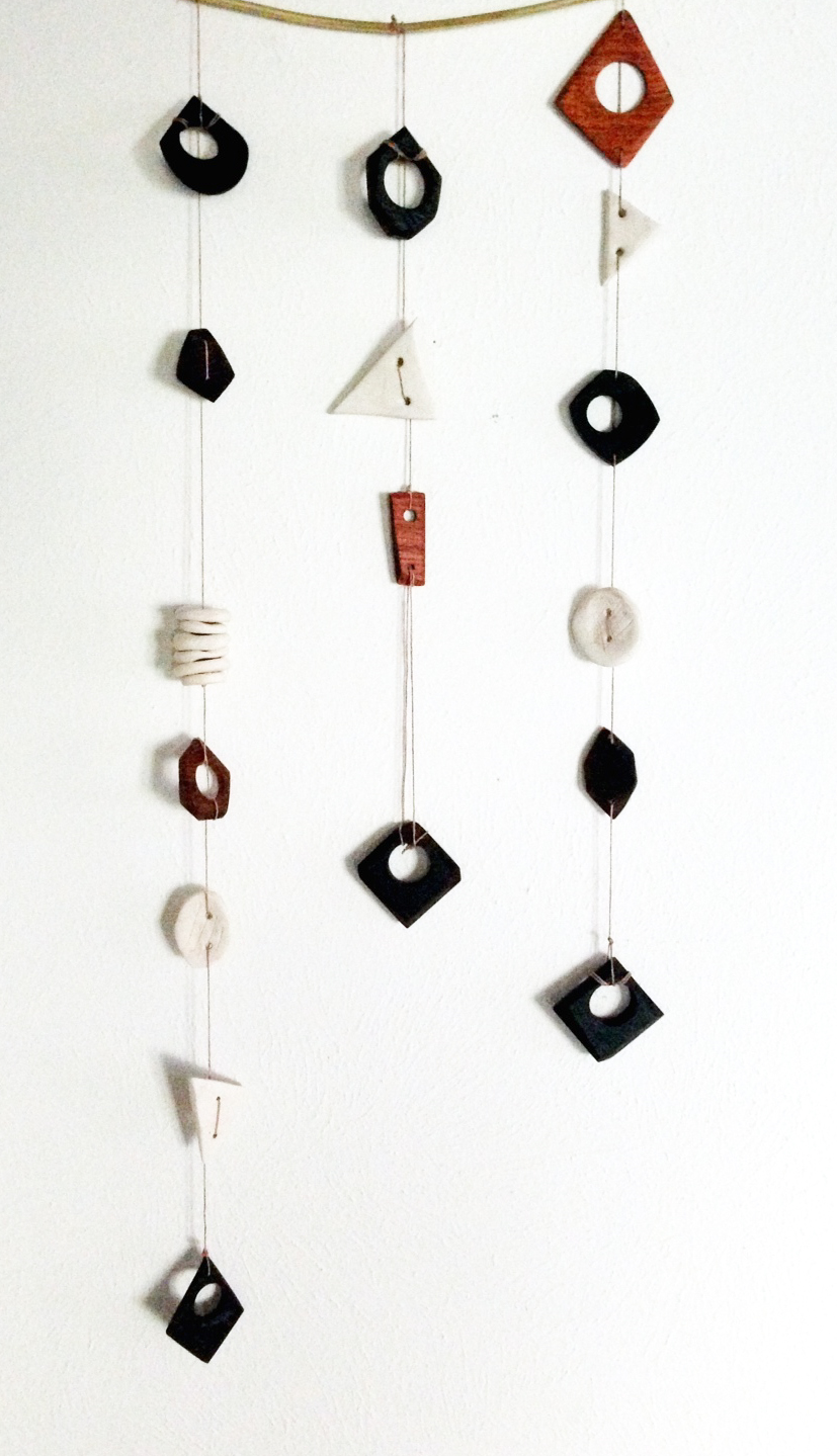 One-of-a-kind wall hangings