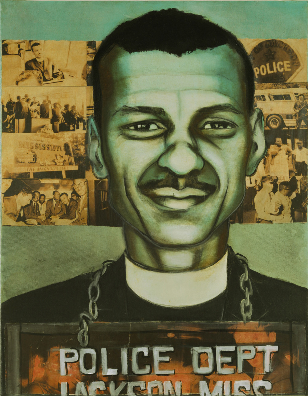 Arrested May 24, 1961 in Jackson, MS: Rev. C. T. Vivian, 36
