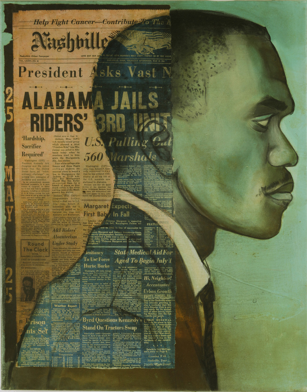 Arrested May 24, 1961 in Jackson, MS: Frank Holloway