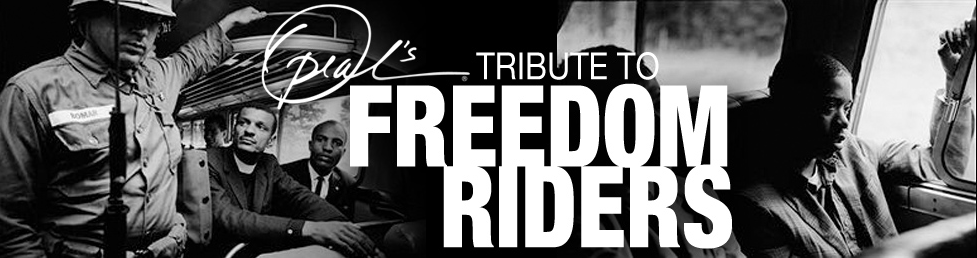 "Oprah.com — ""Artist Pays Tribute to Freedom Riders"" (video)"