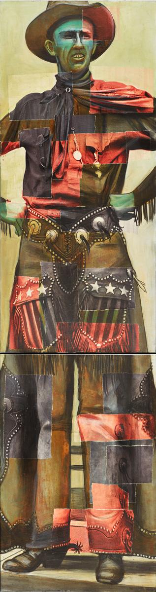Tall Cowboy Madonna (Ralph Madson) 1919