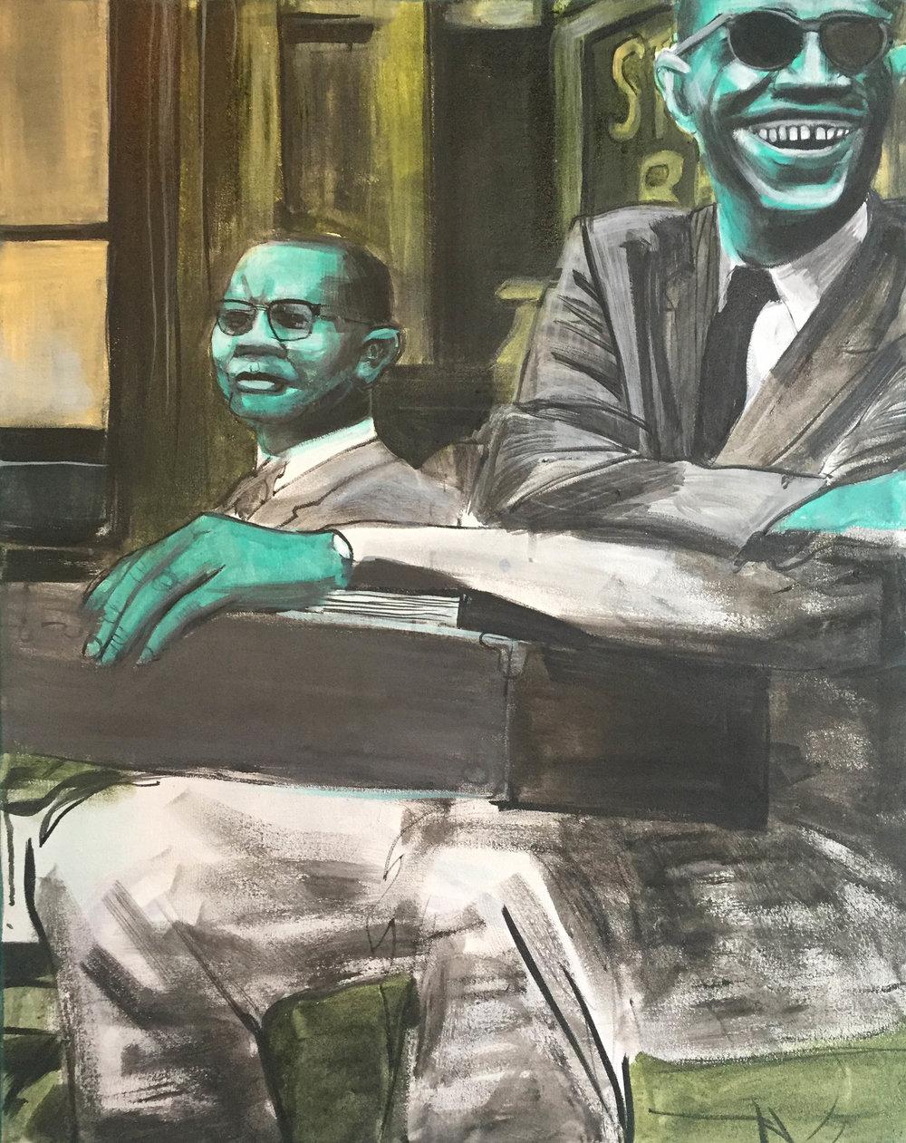 Malcolm X In Harlem