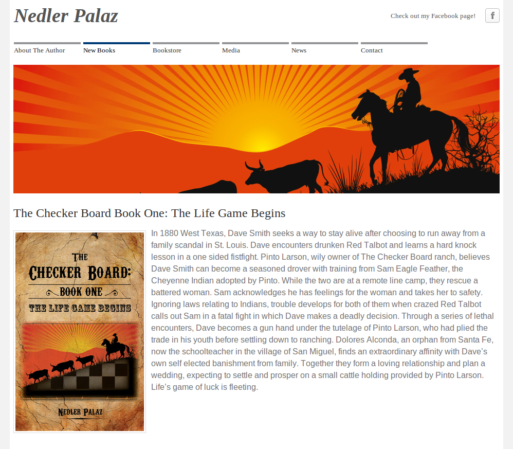 Nedler Palaz FriesenPress Self-published author website.png