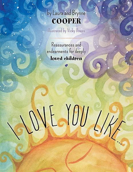 I Love You Like book