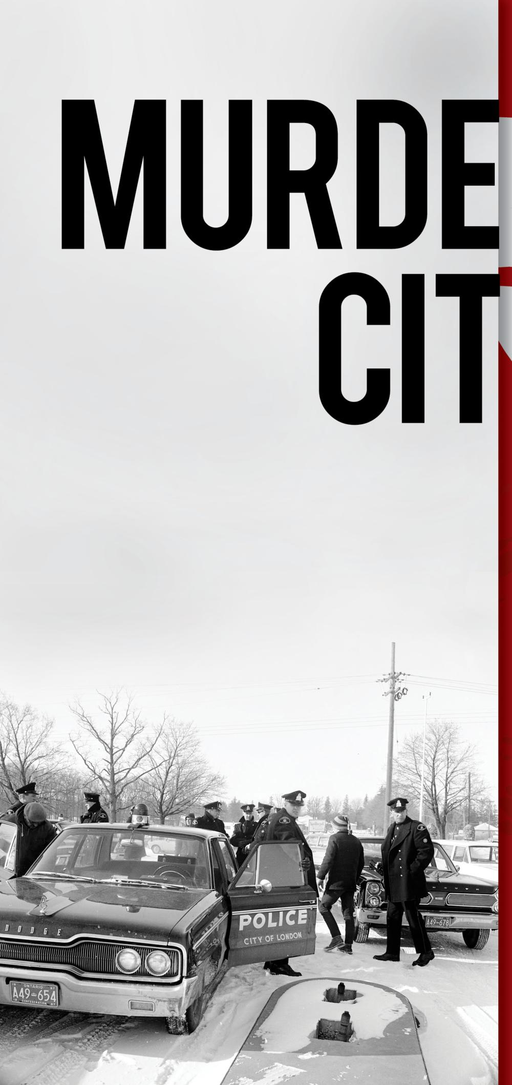 Murder City Book Cover