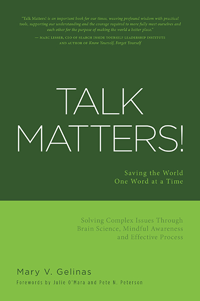 Talk Matters FriesenPress Mary Gelinas