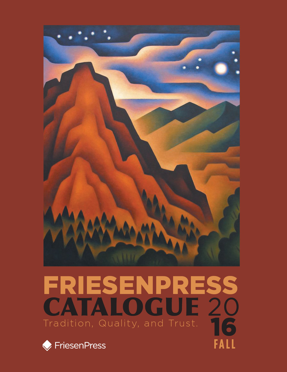 Fall 2016 FriesenPress Catalogue
