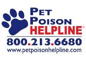 (Please note:  There is a $39 fee when calling .. small price to pay to save your pet's life)
