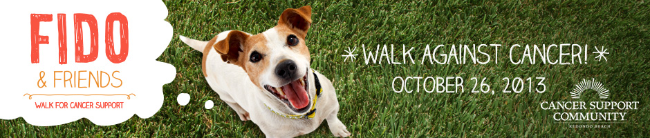 Fido & Friends 9th Annual Walk for Cancer, benefitting Cancer Support Community