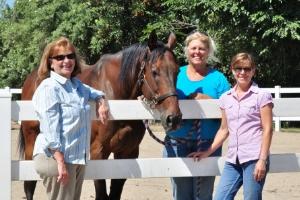 Jean Brusavich (Tranquil Pet), Cash (Johnny Cash), Karen Thompson (Shoestring City Ranch), Nancy Gardner (Pet Communicator)