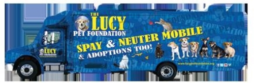 The Lucy Pet Foundation Spay & Neuter Mobile