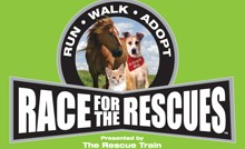 Race for the Rescues, The Rescue Train, pet adoptions