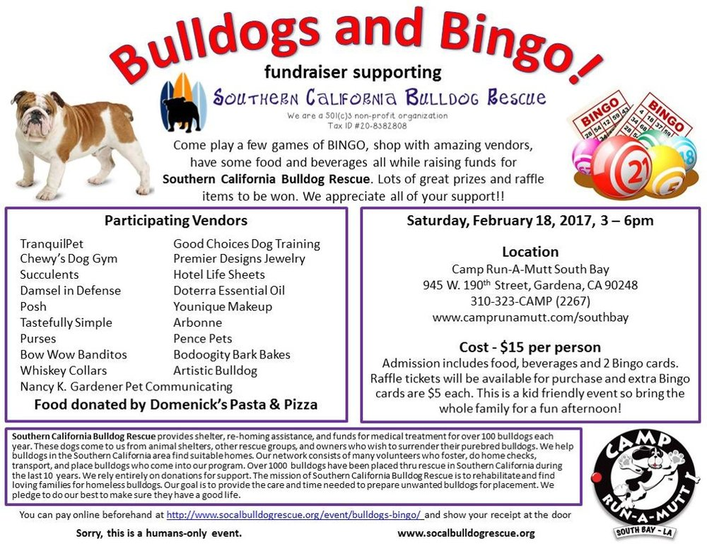 Bulldogs, fundraising event,