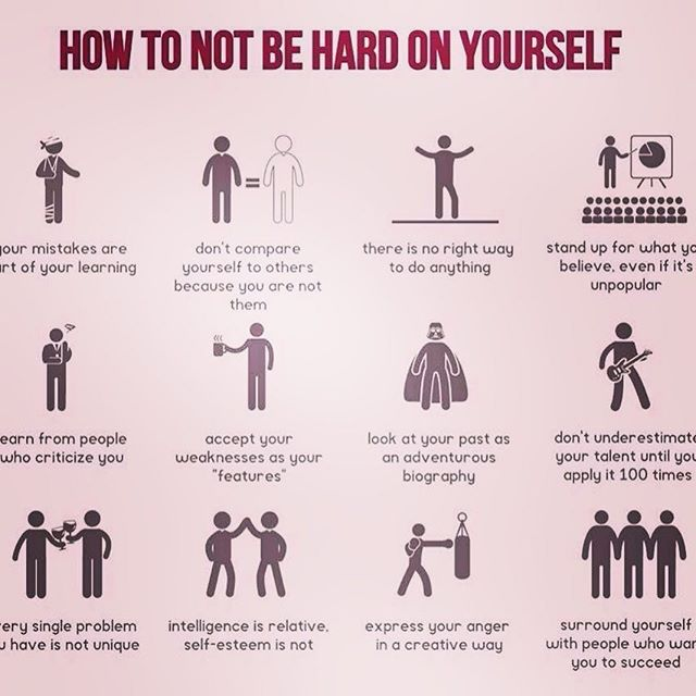 How to not be hard on yourself. #recoveryuncovered #foodforthought