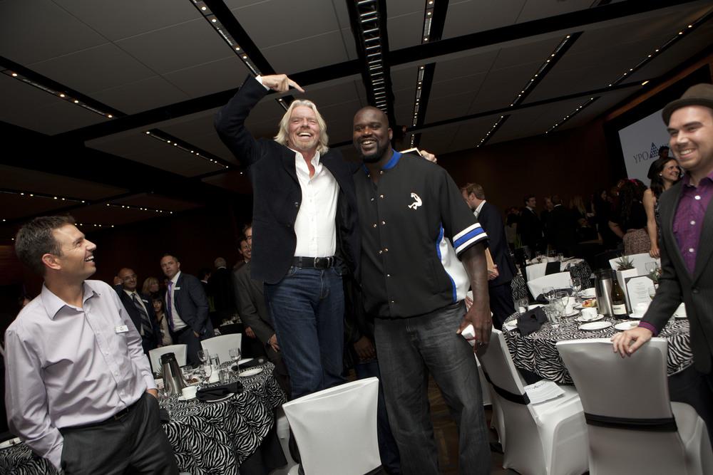 Shaq & Richard Branson 2011-10-13