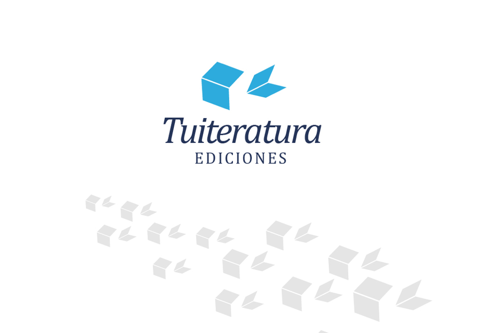 Identidad corporativa para Tuiteratura Ediciones, publicaciones digitales /  https://twitter.com/TuiteraturaEd