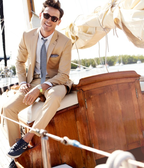 khaki-mens-suit-with-plaid-pocket-square-thin-grey-tie-mens-style-mens-summer-style-navy-blue-lace-up-shoes-wedding-party-blog.jpg