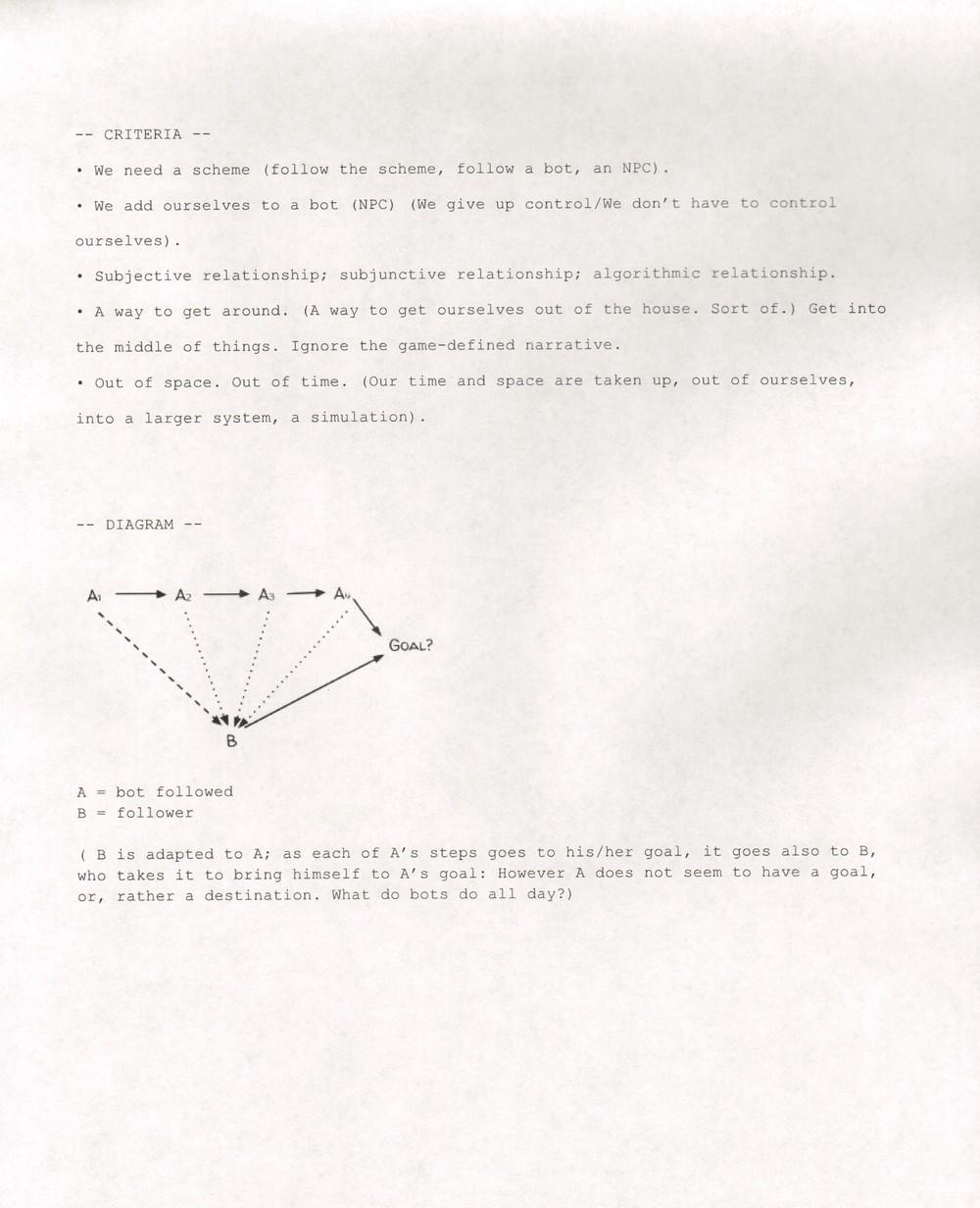 Criteria & Diagram
