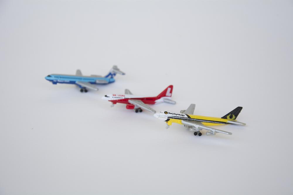 Micro Machines planes