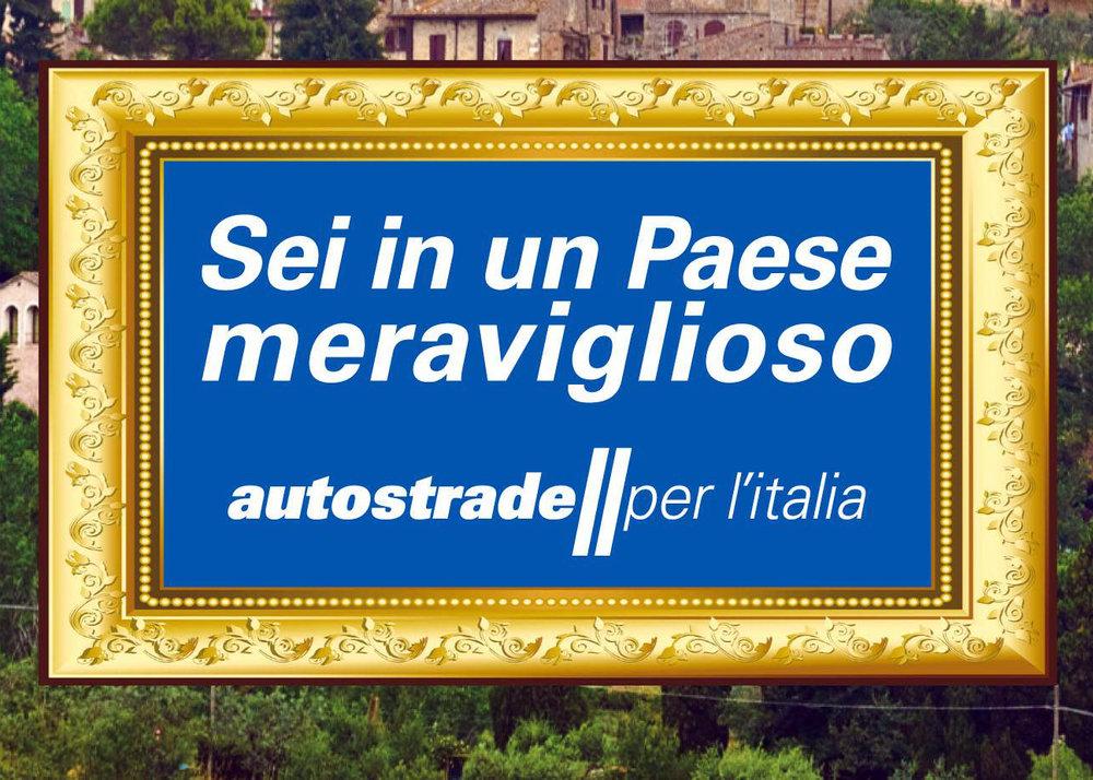 """Autostrade, """"Sei in un paese meraviglioso"""", 2014-ongoing."""