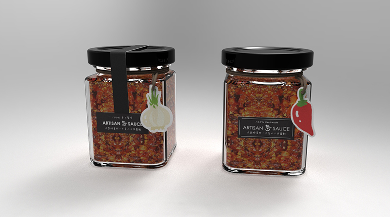iK S' - ARTISAN SAUCE : Branding and Package Design