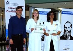 2012-03-23 Praxis Science Fair Kate & Jasveen Regional Gold Medal