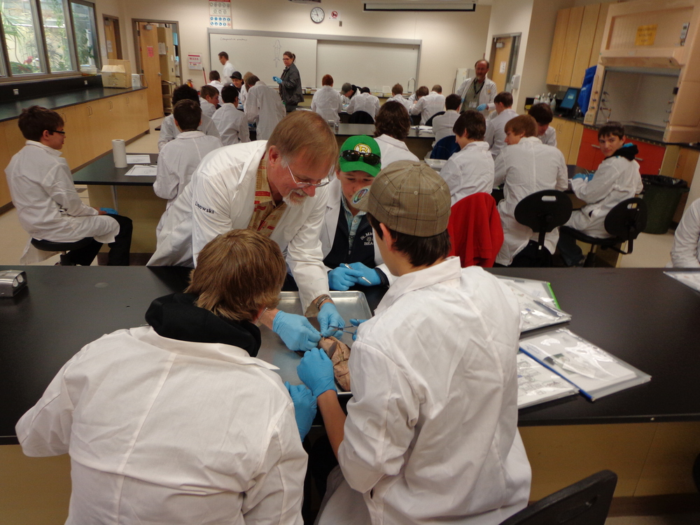 Praxis' Operation Thoth Conference: Medicine Hat College Biology Lab