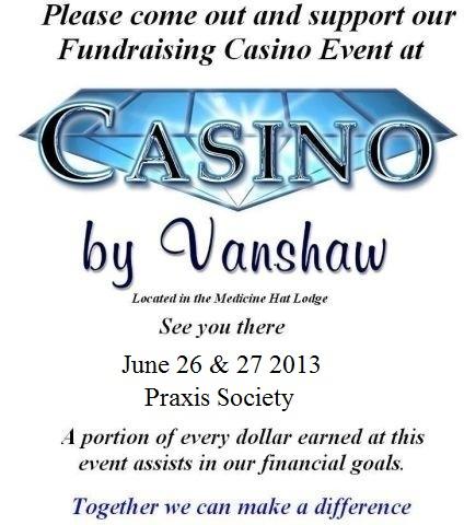 Praxis Casino Advertisement