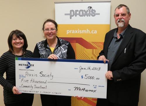 Methanex Donates to Praxis