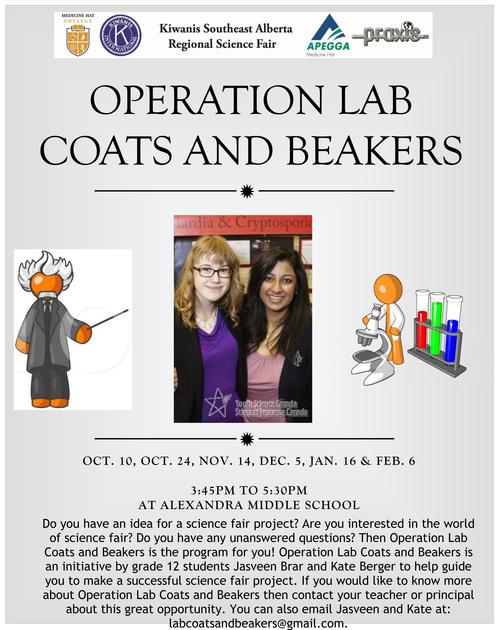Praxis Science Fair: Operation Lab Coats & Beakers