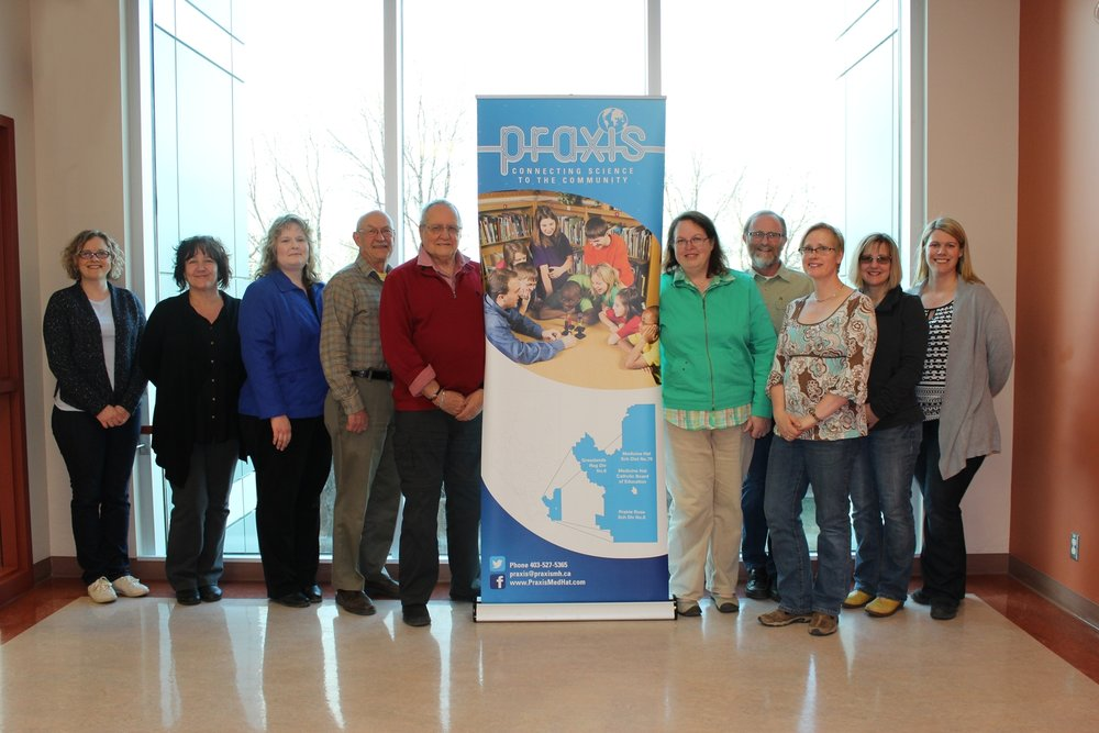 From Left to Right: Susan Rowsell, Deneen Yasinchuk, Patty Rooks, Kent Harding, Brian Sabiston, Cathy Linowski, Gary McFarlane, Karen Saffran, Carolyn Weiler, Tracy Warwick