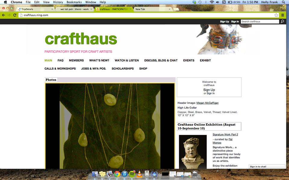 8.23.13 Header-spotlight on Crafthaus.ning.com