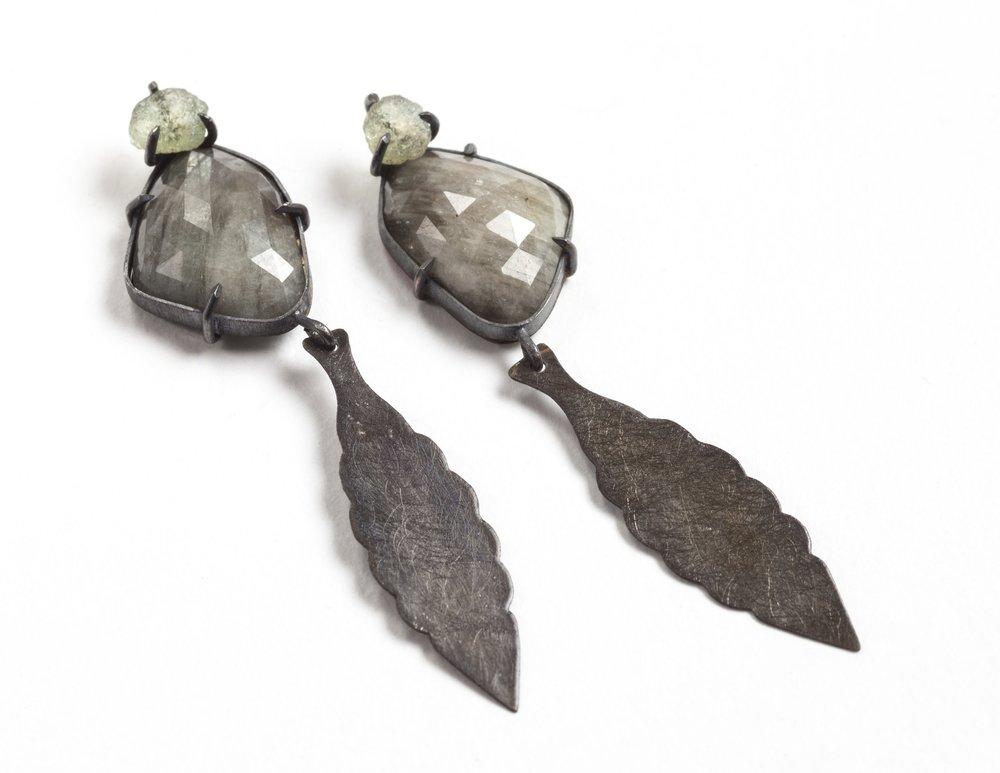 Florentine Earrings I, 2017