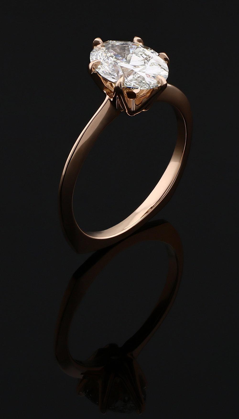 Custom Engagement Ring, 2018