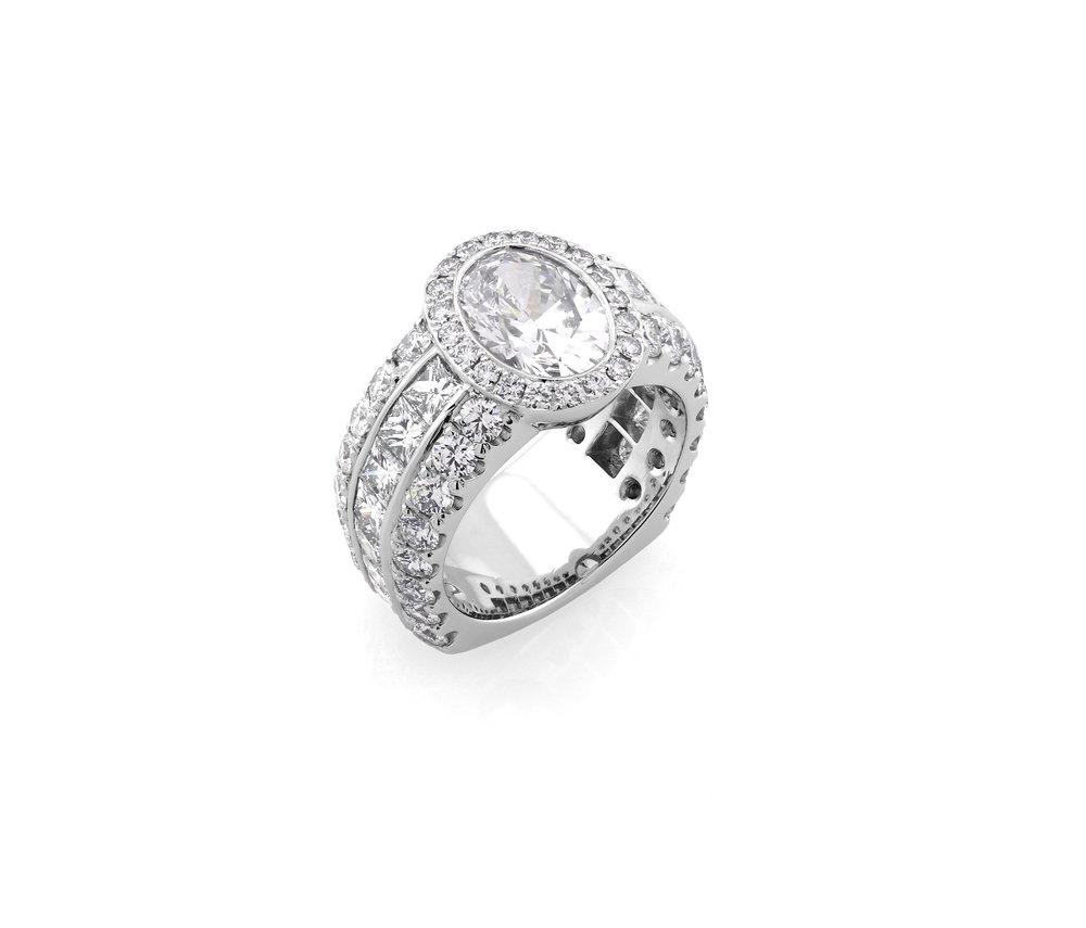 Custom Platinum Wedding Ring, 2018