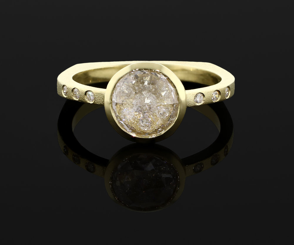 18k Engangement Ring, 2018