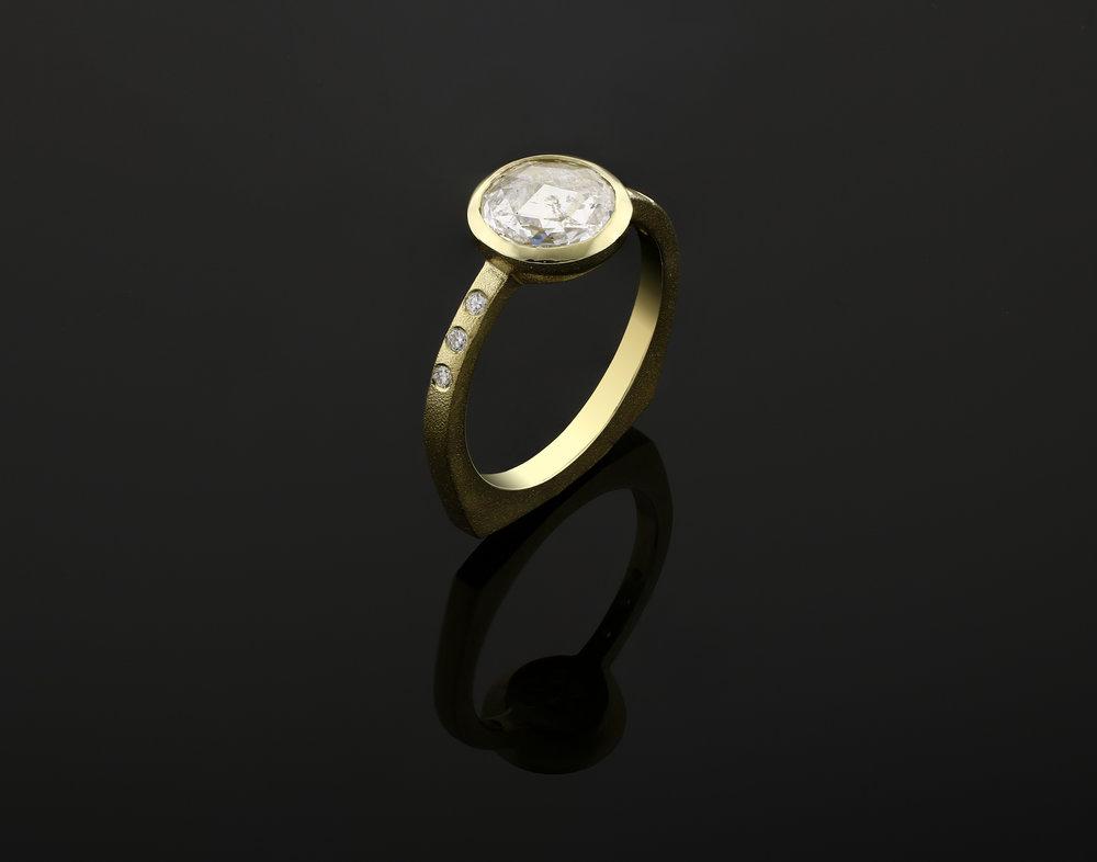 18k Engagement Ring, 2018
